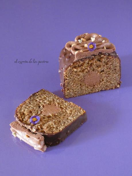 Cake Tubo Gofio de Quinoa y Manises (Cacahuetes)