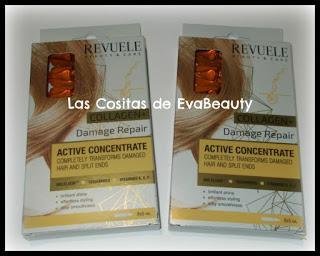 Ampollas capilares reparadoras con Colágeno de Revuele en Primor
