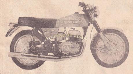 Bultaco Mercurio 175 GT del año 1976