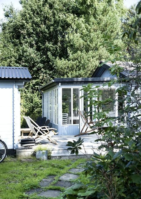 delikatissen wood house summer tree villa sommerhus segunda residencia scandinavian summer house scandinavian country house casa de verano casa de vacaciones Casa de madera