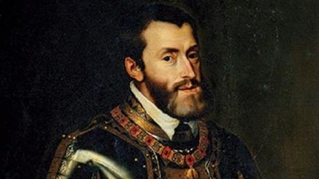 Cuenta la crónica que el emperador Carlos V desembarcó en Santander el año 1522 con una flota de 150 naves