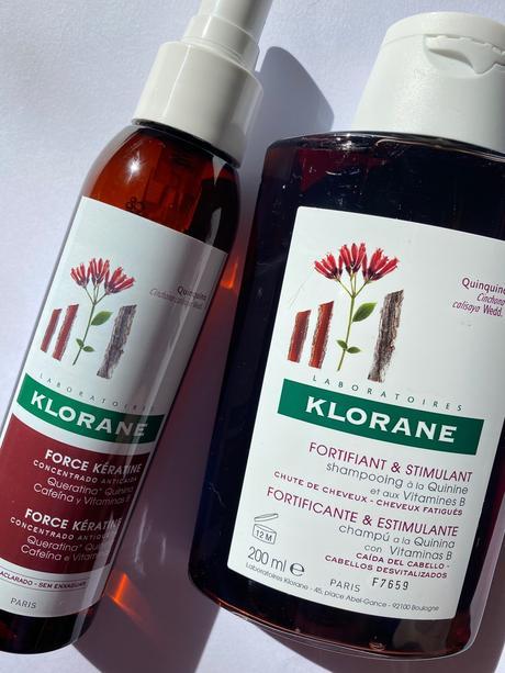 Quinina de Klorane y la caída del cabello.