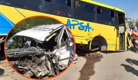 27 lesionados por encontronazo en Carretera Ríoverde