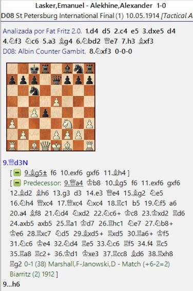 Lasker, Capablanca y Alekhine o ganar en tiempos revueltos (30)