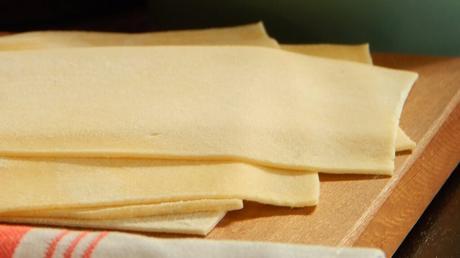 masa para lasaña lasagna pasta casera