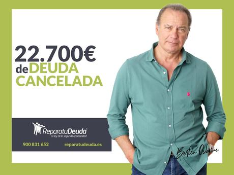 Repara tu Deuda cancela 22.700€ en Valladolid (Castilla y León) gracias a la Ley de Segunda Oportunidad