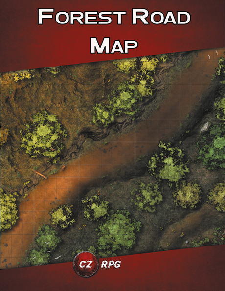 Forest Road Map, de CZRPG