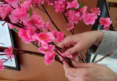 Flores para una entrada