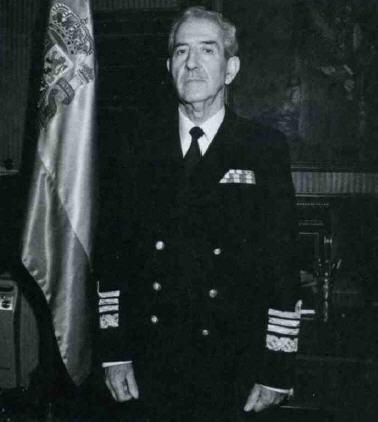 Santanderinos: Almirante Fernando Nárdiz (1924-2005),jefe del Estado Mayor de la Armada entre 1986 y 1990