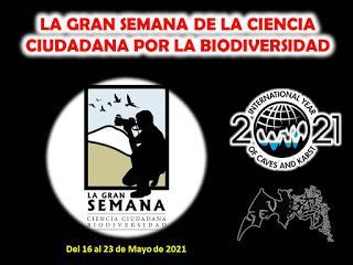 El G.E.V. participará en La Gran Semana de la Ciencia Ciudadana