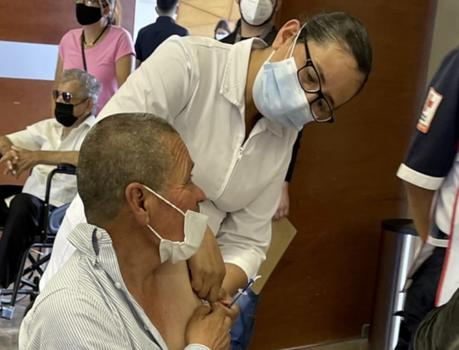 Aplicarán segunda dosis de vacuna en SLP y Soledad desde este Martes