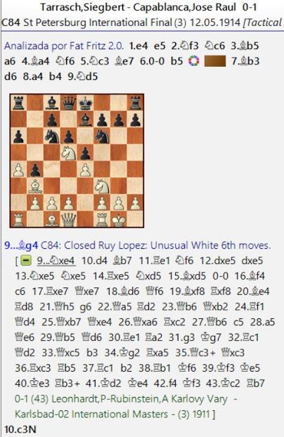 Lasker, Capablanca y Alekhine o ganar en tiempos revueltos (33)