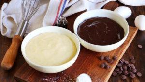 crema pastelera vainilla chocolate