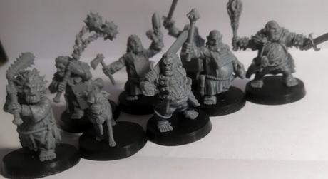 HALFLINGS THE WITCH HUNTERS, de Miniaturas Ezipion, en Kickstarter