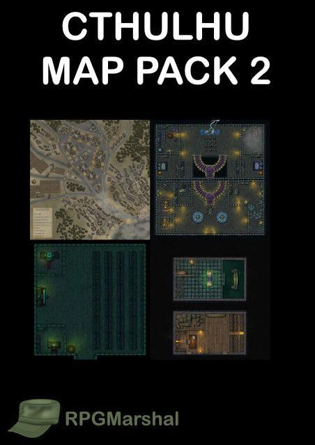 Cthulhu Map Pack 2 de RPG Marshal