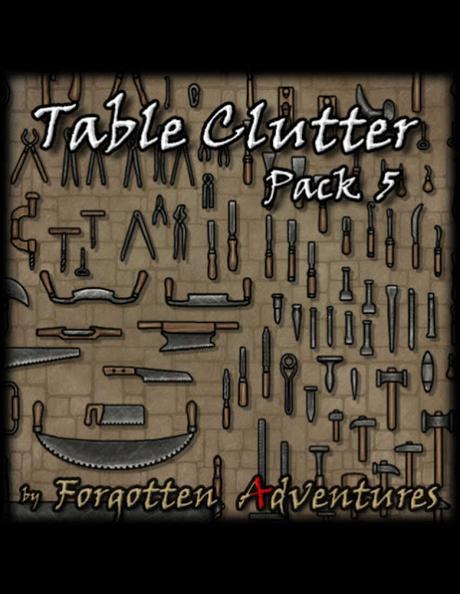 Table Clutter - Pack 5, de ForgottenAdventures