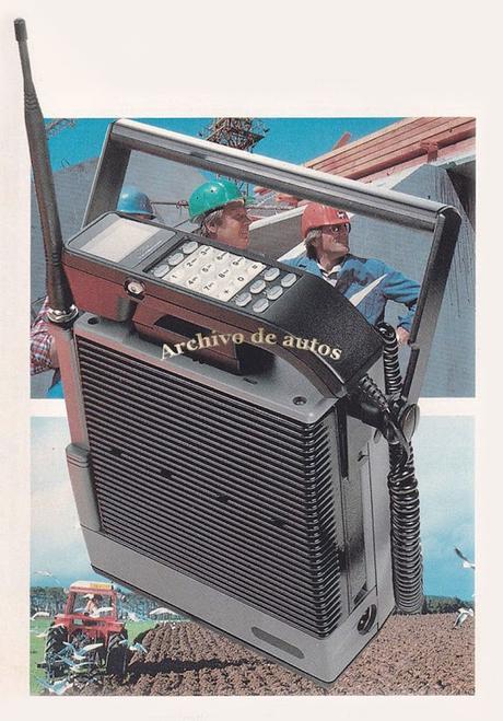 Los teléfonos celulares de la marca Ford del año 1988