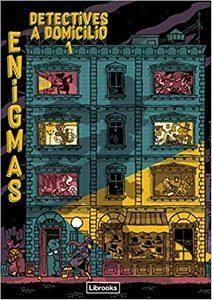 """""""Enigmas. Detectives a domicilio"""", de Paul Martin y varios ilustradores"""