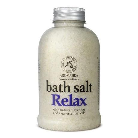 #Review Sales de Baño Relajantes con Aceite Esencial de Lavanda y Salvia de Aromatika