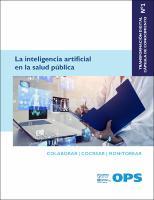 La inteligencia artificial en la salud pública