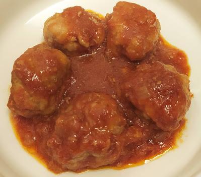 Albóndigas en salsa de tomate casera