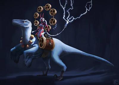 Unas cuantas ilustraciones dinosaurianas... (LV)