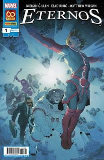 Critiquitas 509: Eternos nº 1, K. Gillen y E. Ribic, Marvel-Panini 2020