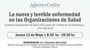 ADECRA+CEDIM ORGANIZARÁN UNA JORNADA DE CAPACITACIÓN CONTRA LOS ATAQUES INFORMÁTICOS