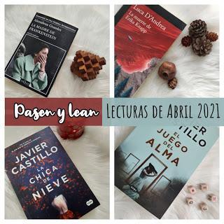lecturas de Abril 2021