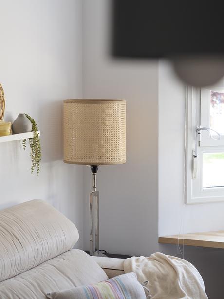 DIY Pantalla de lámpara de rejilla cannage_10