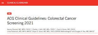 Pautas clínicas para la detección del cáncer colorrectal 2021