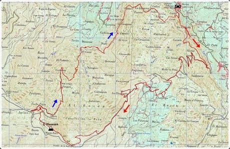 Murias-Cascada de Xurbeo-El Rasón-L´Homón