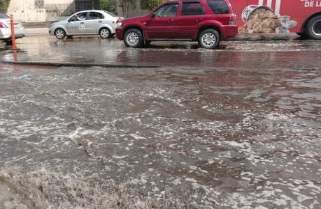 Lluvia y granizo por las próximas horas en SLP