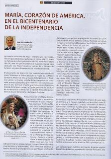 MARÍA, CORAZÓN DE AMÉRICA, EN EL BICENTENARIO DE LA INDEPENDENCIA