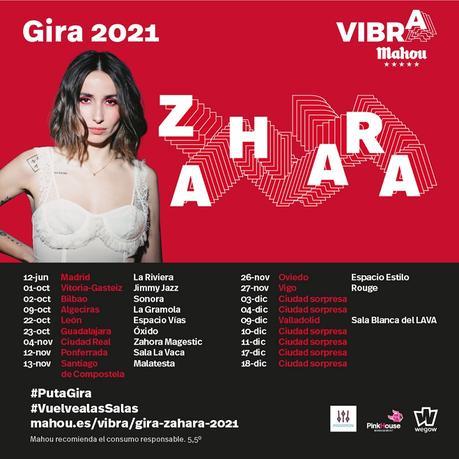 Zahara anuncia la Gira Vibra Mahou por 17 ciudades