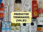 Productos Terminados (Vol.81)
