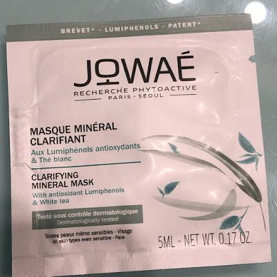 Mascarilla Mineral Clarificante de Jowaé. Viernes de Spa