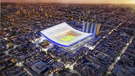 Nuevo estadio de San Lorenzo de Boedo / IDOM