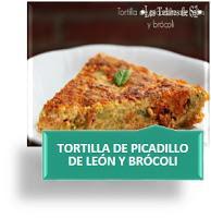 TORTILLA DE PICADILLO DE LEÓN Y BROCOLI