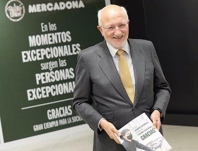 Juan Roig reinvierte 70 millones de euros en la economía valenciana y española