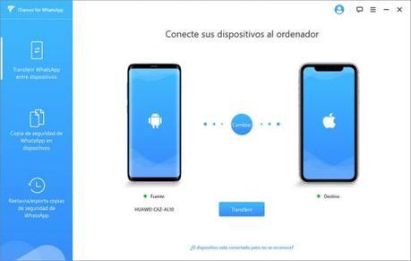 Cómo transferir tus datos WhatsApp de Android a iOS