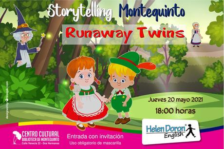 "Storytelling Montequinto presenta ""Runaway Twins"" – Helen Doron English"