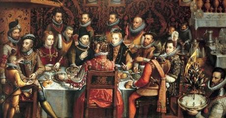 sánchez cohello pintura felipe monarcas banquete