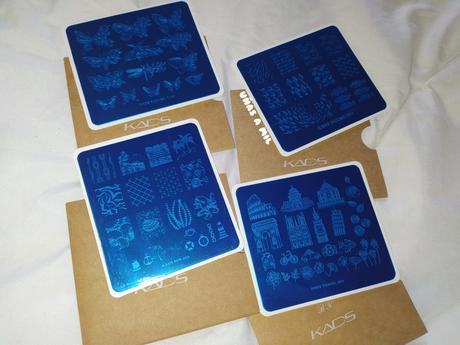 Placas de estampación KADS NAIL ART