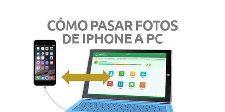 Cómo pasar fotos del iPhone a PC Windows