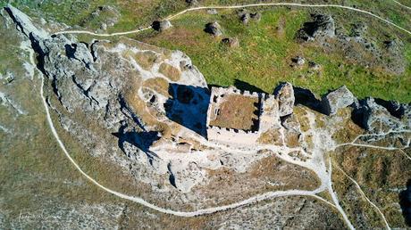 Castillo de Oreja - A vista de dron