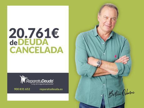 Repara tu Deuda Abogados cancela 20.761€ en Cornellà (Barcelona) gracias a la Ley de Segunda Oportunidad