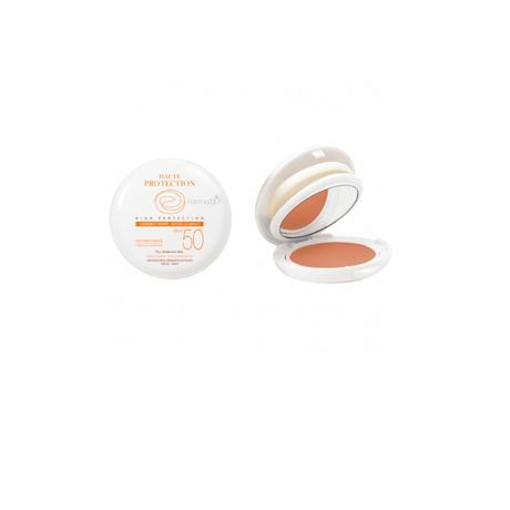 Avene maquillaje compacto oil free spf 50