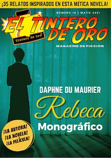 EL TINTERO DE ORO MAGAZINE Nº 14: REBECA de Daphne du Maurier